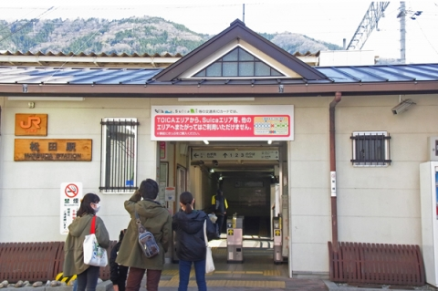 松田町スナップ御殿場線松田駅