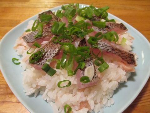 炙りムツのちらし寿司2