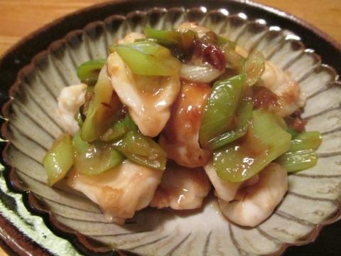 サバフグのごま味噌炒め3