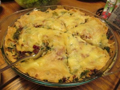 海老とホタテのチーズパン粉焼き1