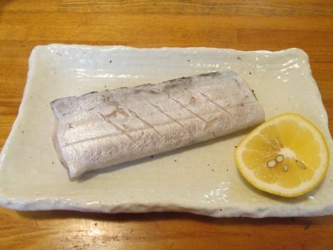 タチウオの塩煮1