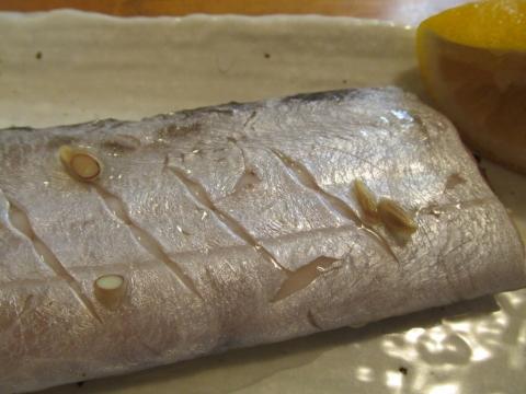 タチウオの塩煮アップ2
