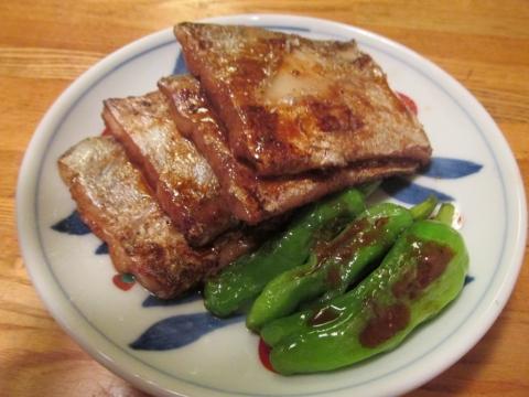 タチウオの山椒照り焼き1
