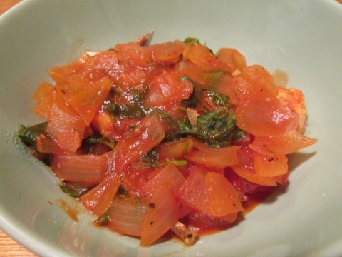 クロダイのトマトソース煮込み2