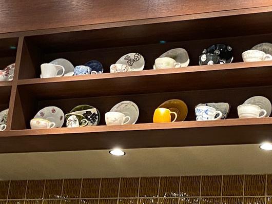 喫茶店コーヒーカップ