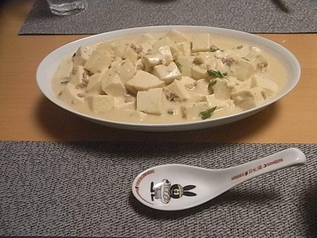ホワイト豆腐1
