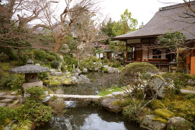 當麻寺中之坊・書院と庭園