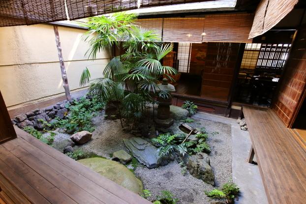 吉田家住宅・中庭