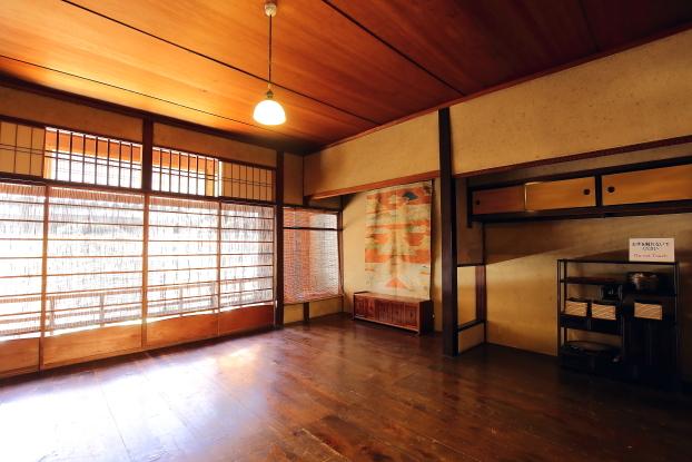 吉田家住宅・2階奥の間