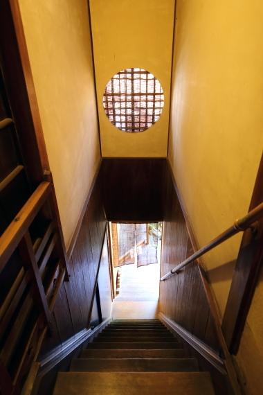 吉田家住宅・階段