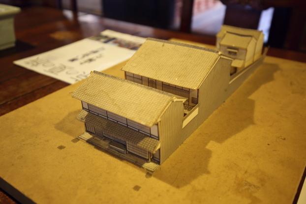 吉田家住宅・模型