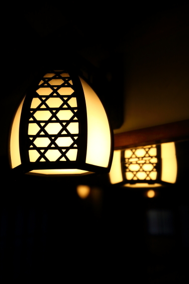 旧遠山家住宅・照明