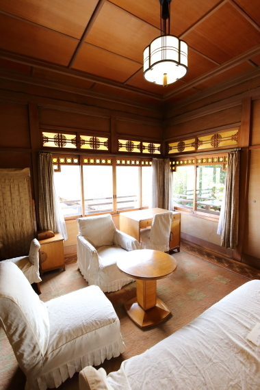 旧遠山家住宅・中棟2階寝室