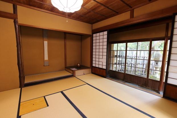 北方文化博物館新潟分館・主屋1階座敷(坐忘)