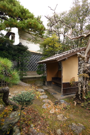 北方文化博物館新潟分館・待合と土蔵