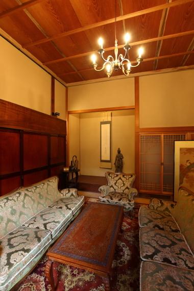 中野邸記念館・本館応接室