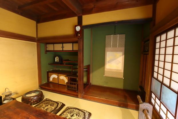 中野邸記念館・本館1階当主の部屋