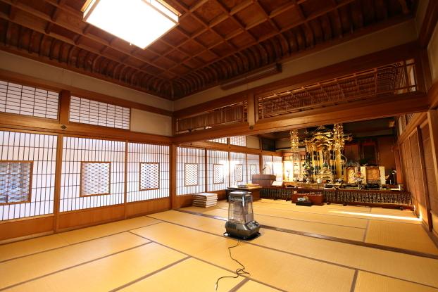 旧斉藤邸(孝順寺)・大広間