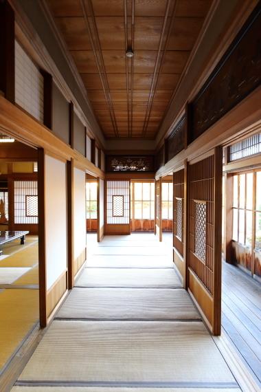 旧斉藤邸(孝順寺)・縁側