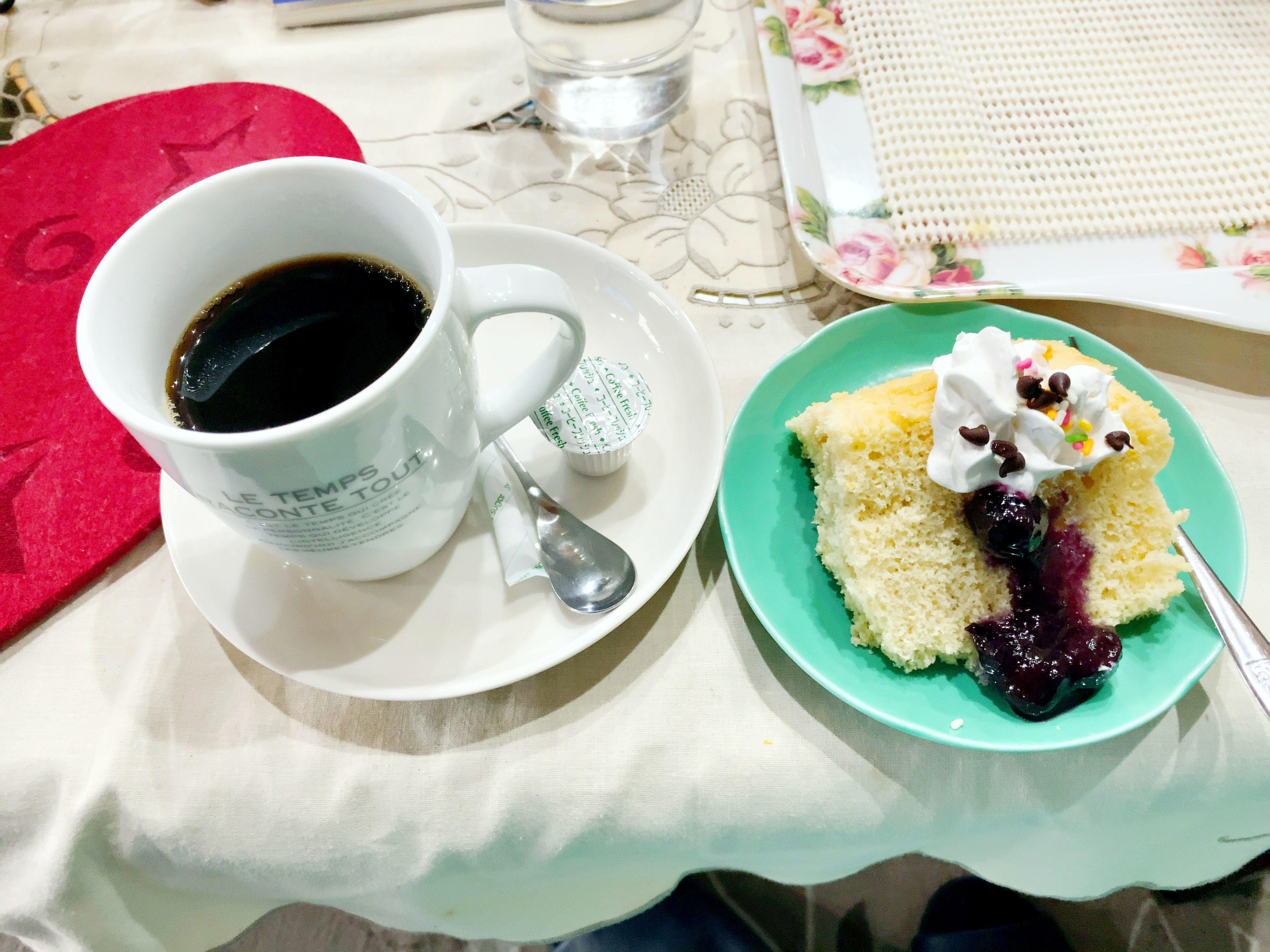 コーヒー&シフォン