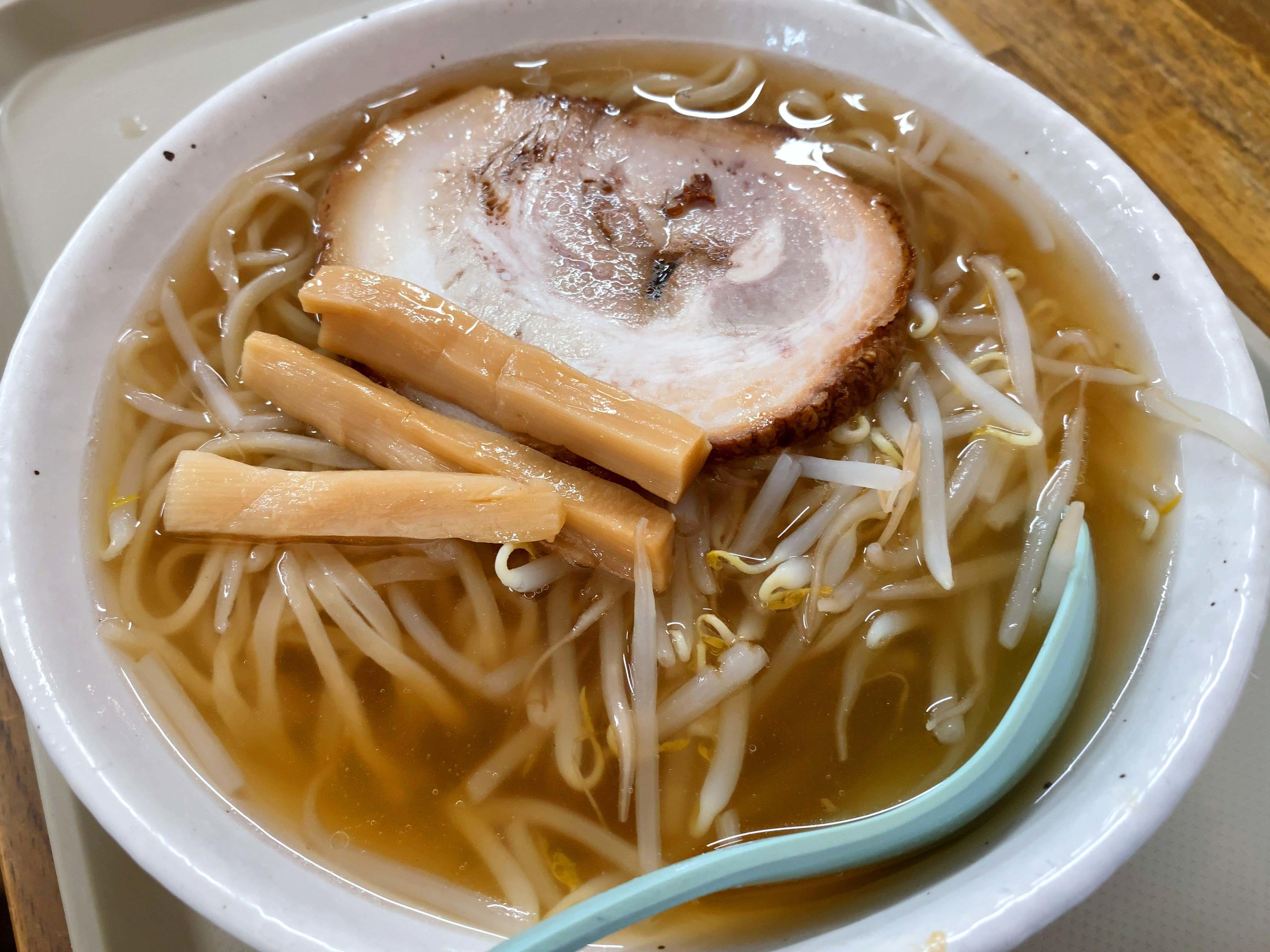 ラう飩 チャーシュー麺 小 550円