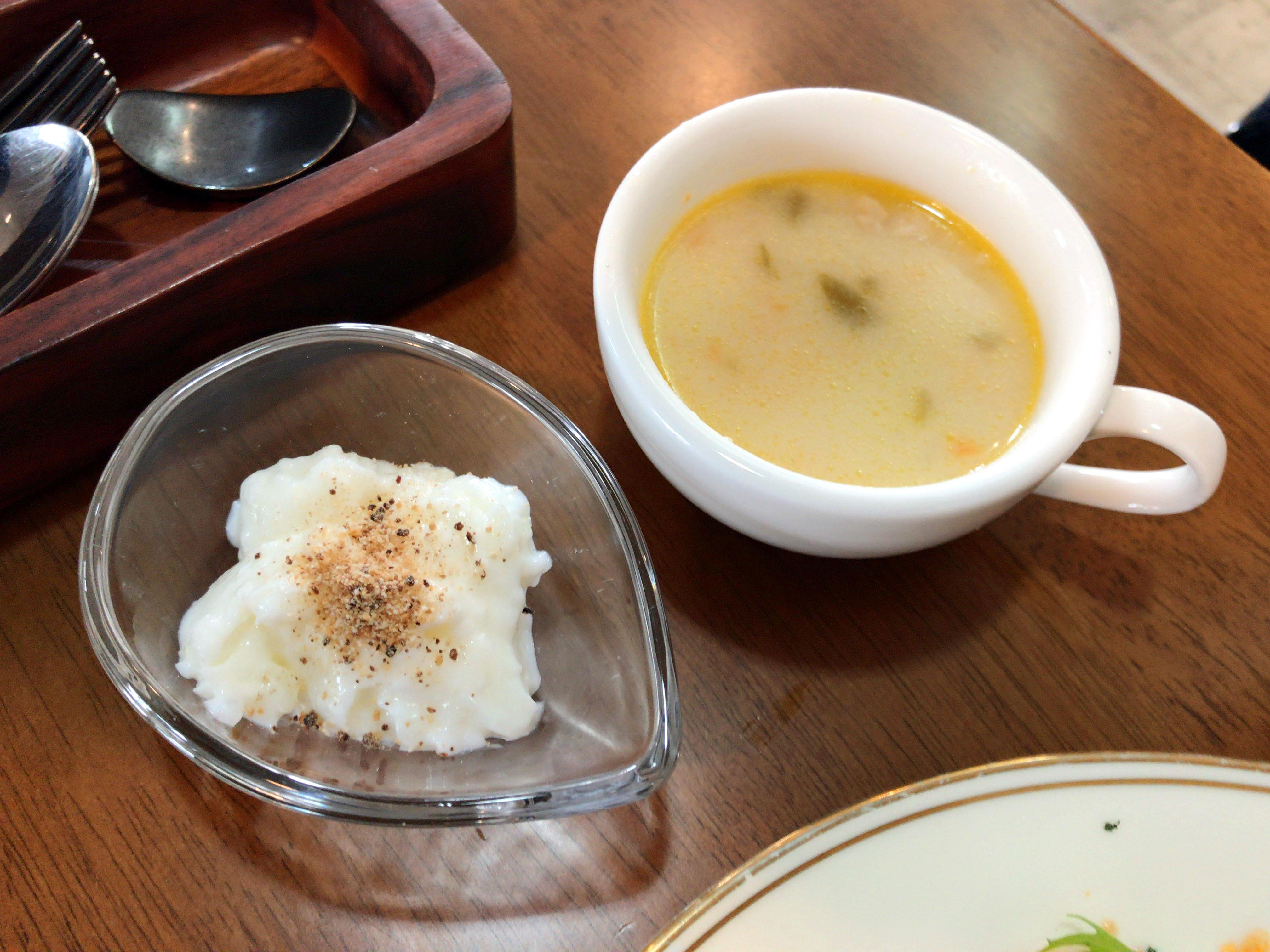 トルコライス スープ&デザート
