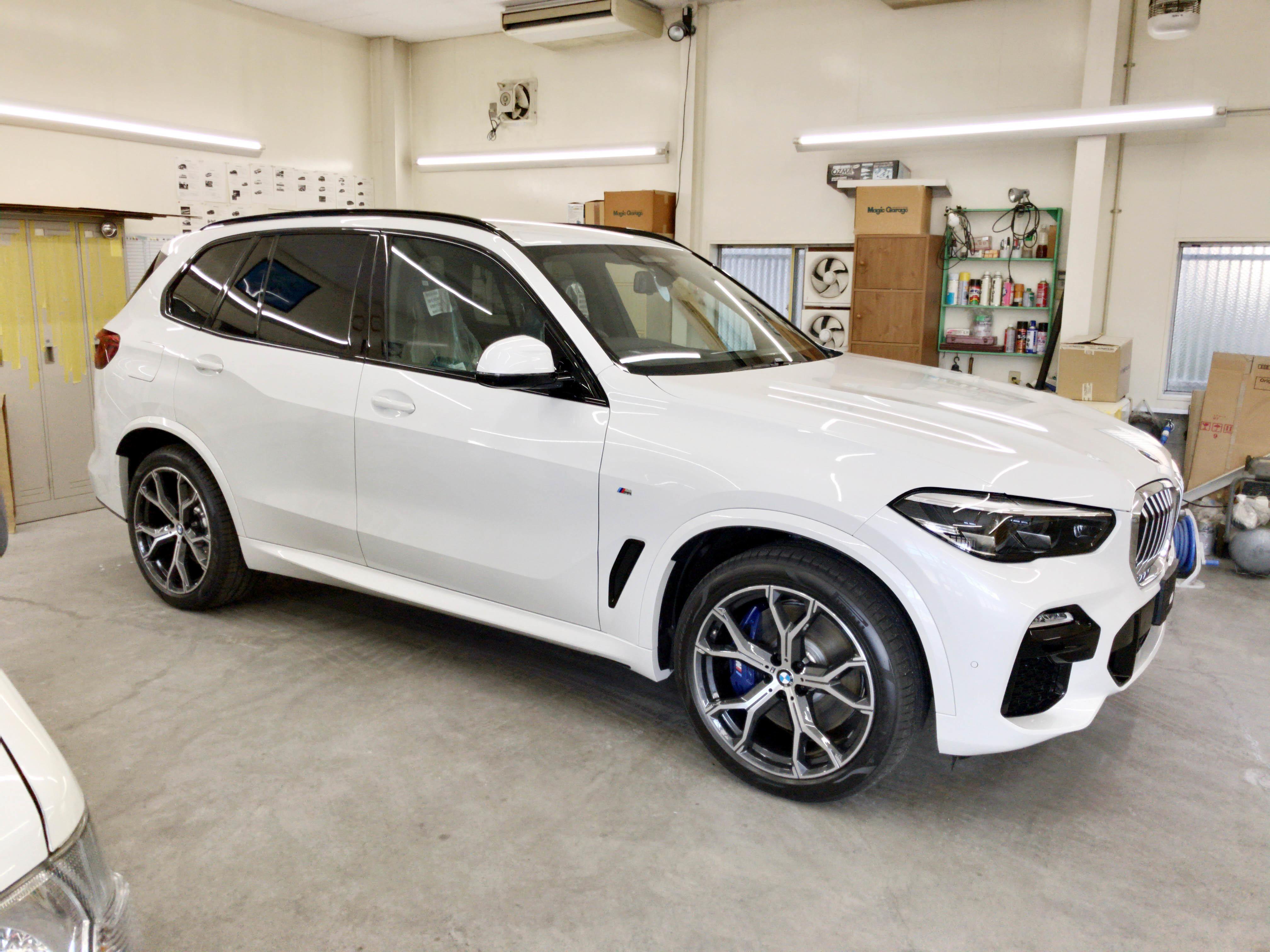 BMW X5 (F15)@クリスタルガイア & GY-15IR 02
