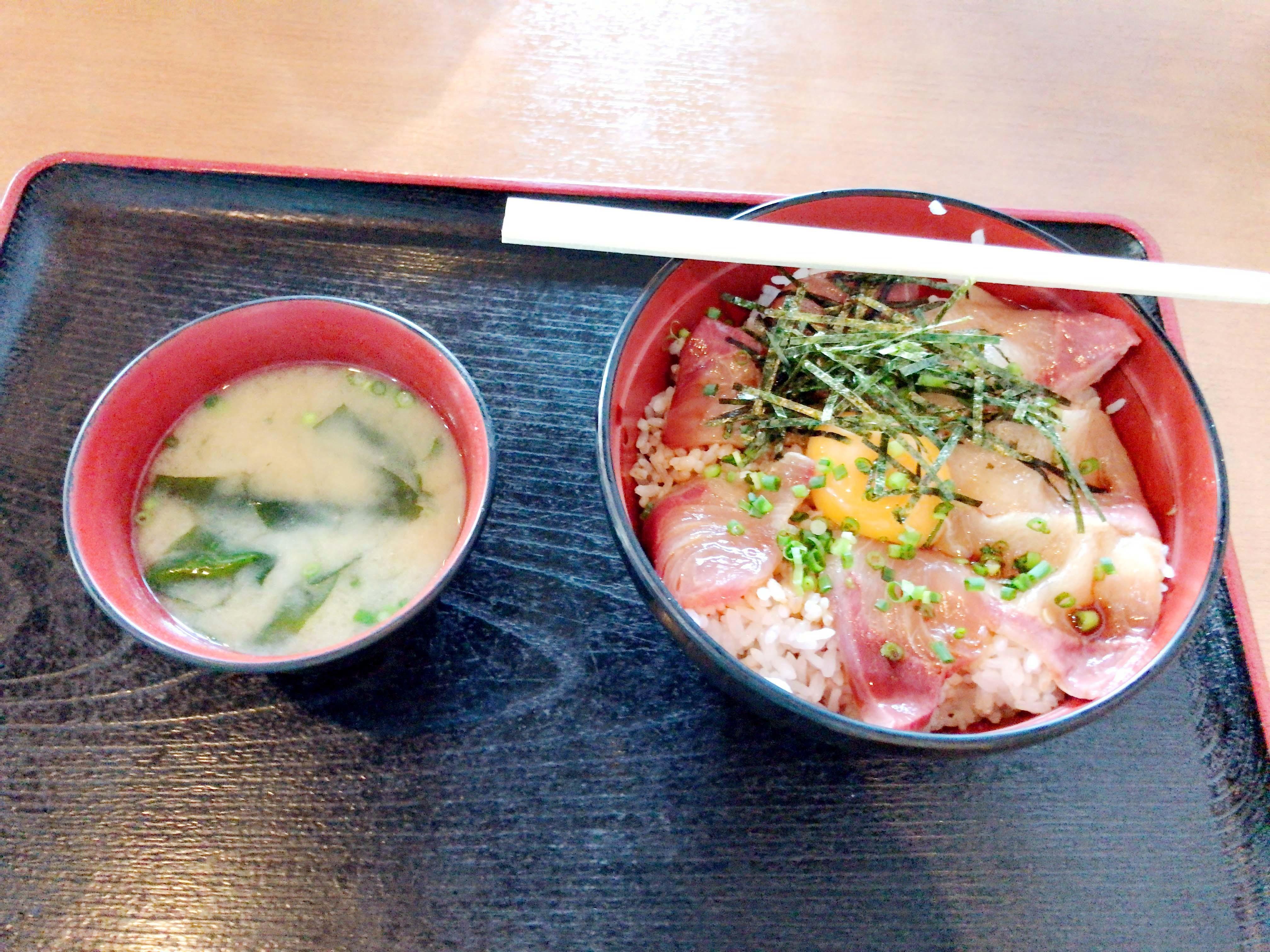 漁師丼(大)900円