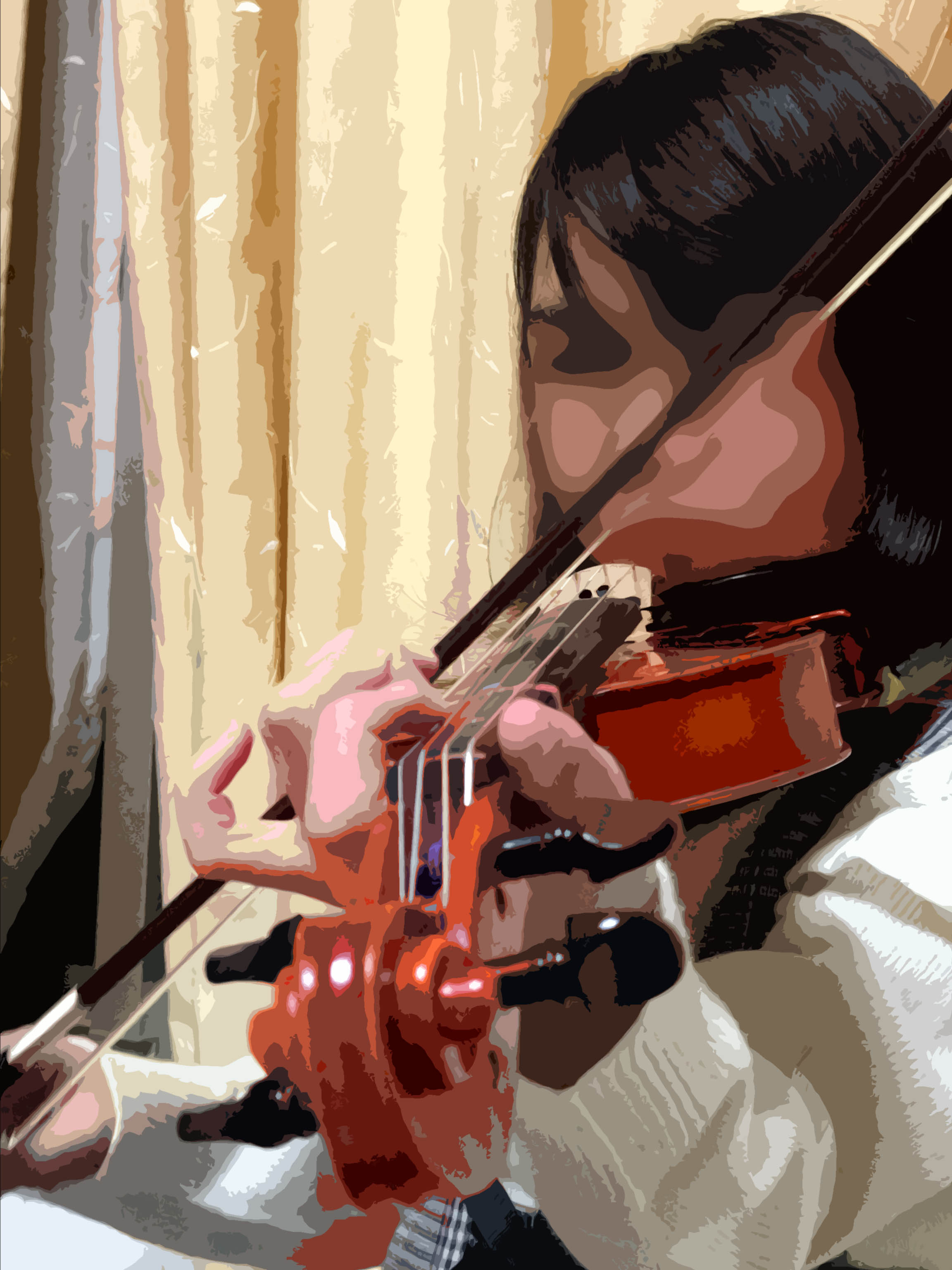 バイオリン女子