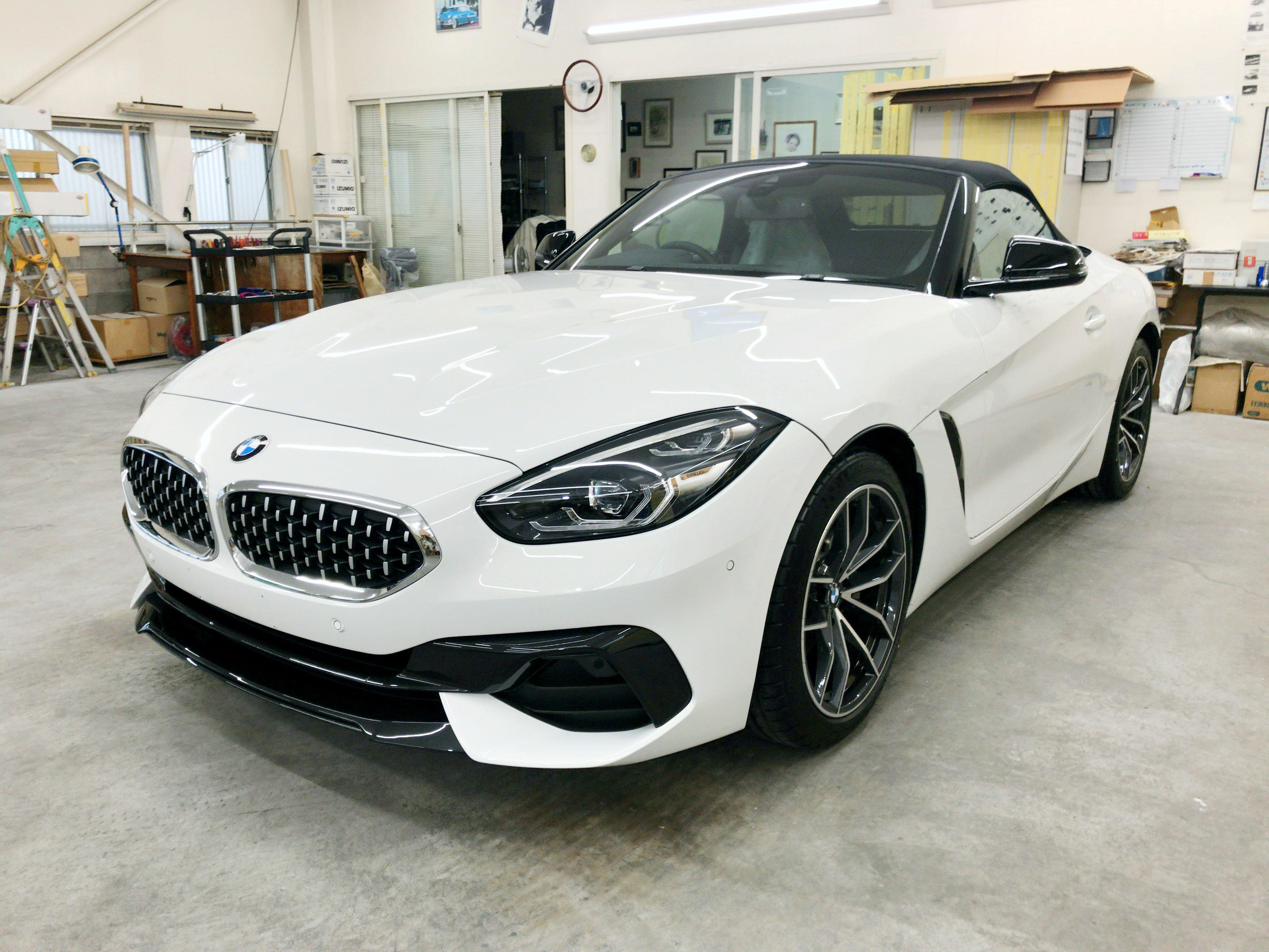 BMW Z4(G29)@スーパープラチナガラスコート01