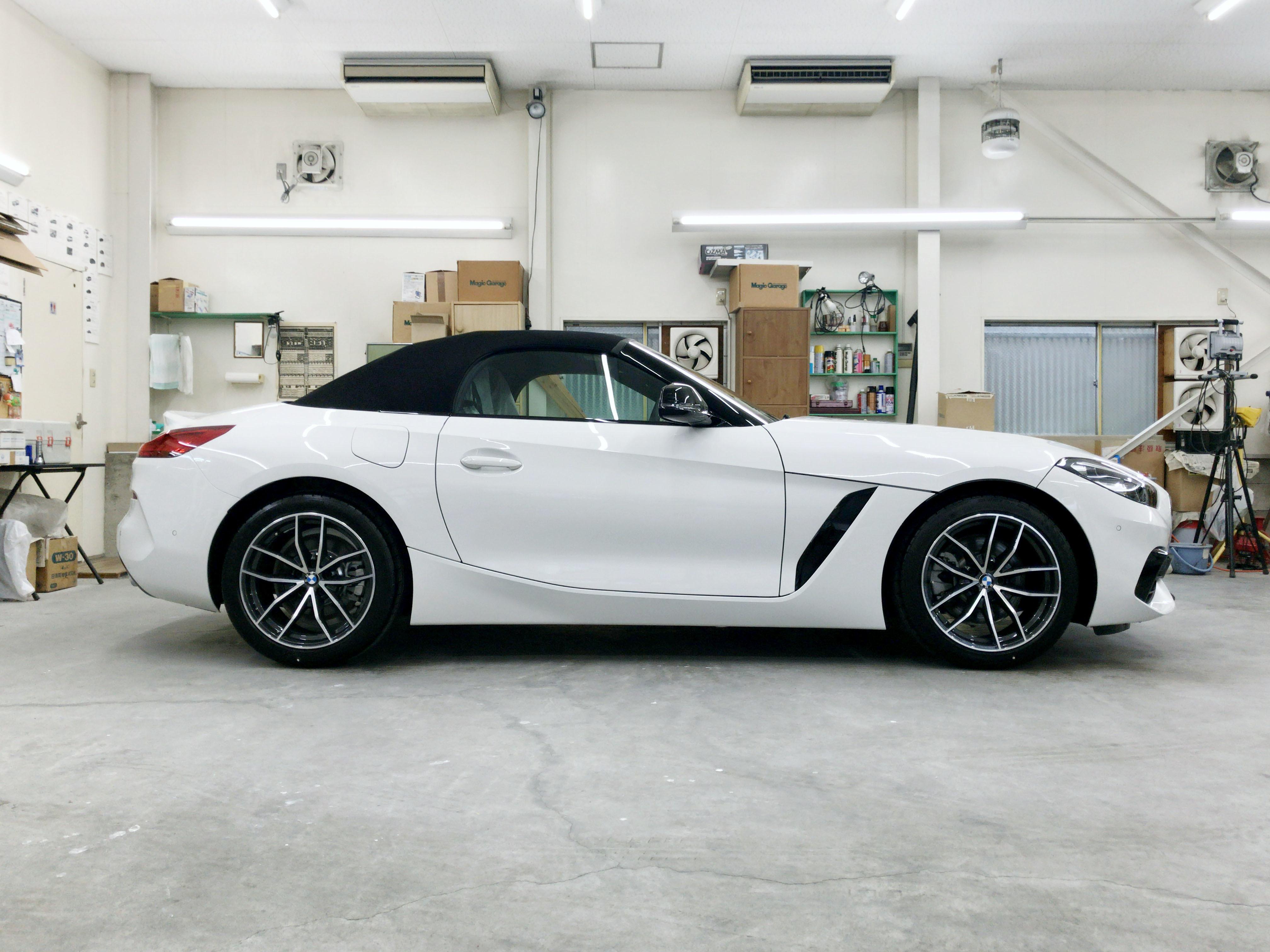 BMW Z4(G29)@スーパープラチナガラスコート02