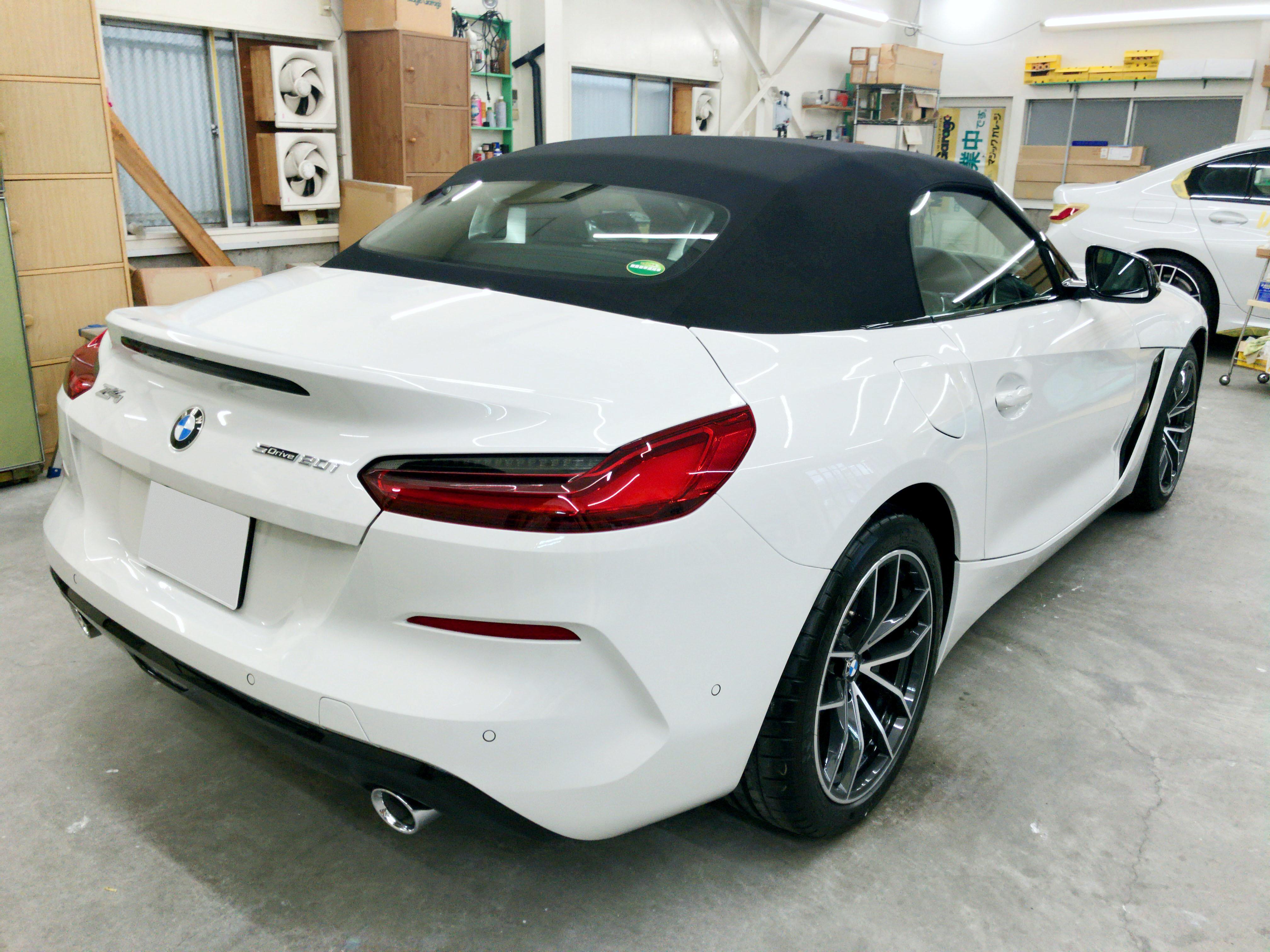 BMW Z4(G29)@スーパープラチナガラスコート03