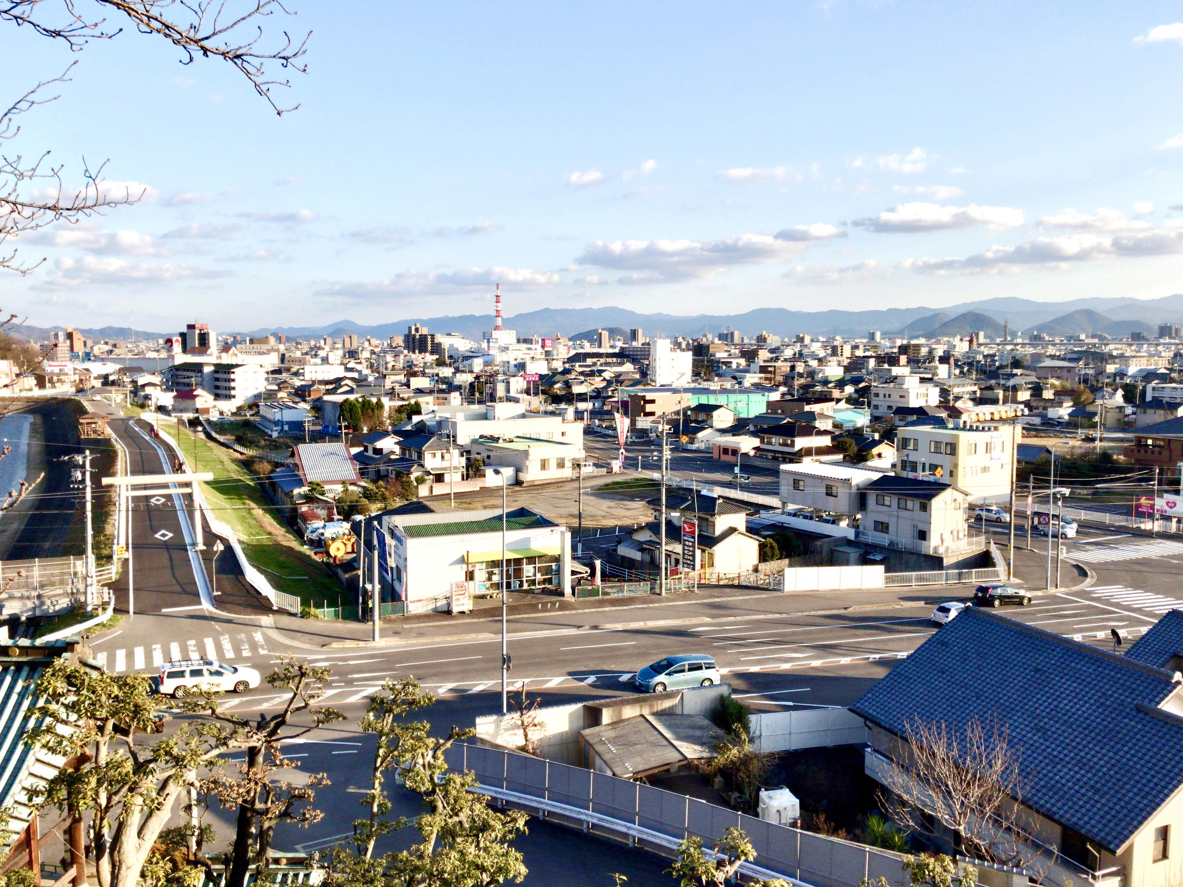 鶴尾八幡宮からの眺め1