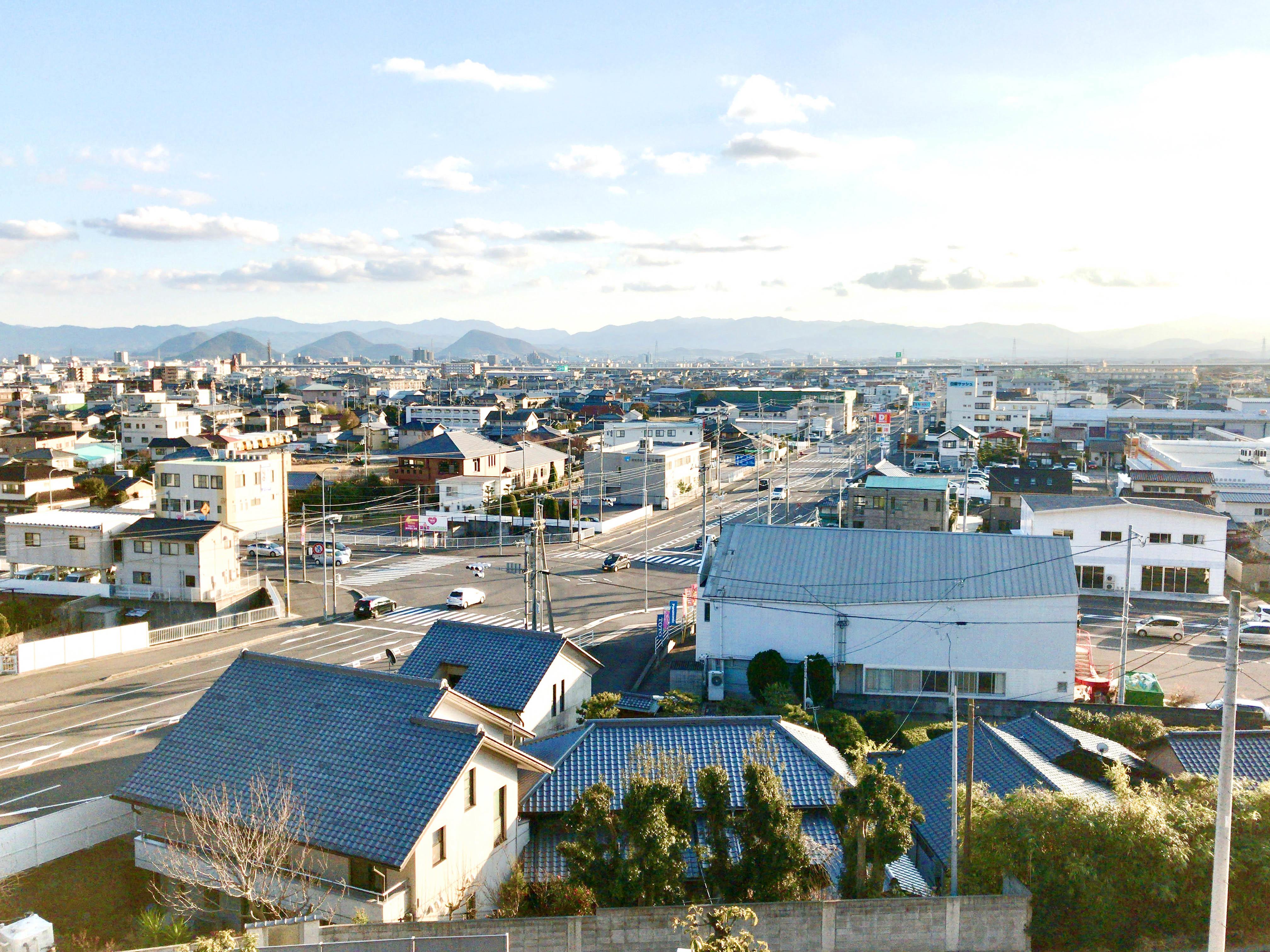 鶴尾八幡宮からの眺め2
