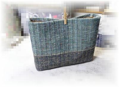 裂き織りトート32-1