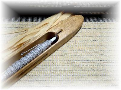 裂き織りマフラー28-2