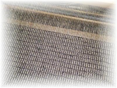 裂き織りマフラー28-4