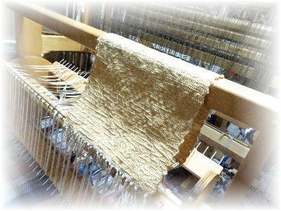 裂き織りマフラー28-3