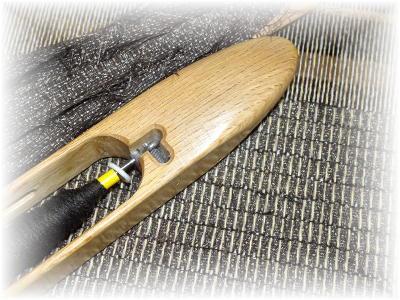 裂き織りマフラー28-5