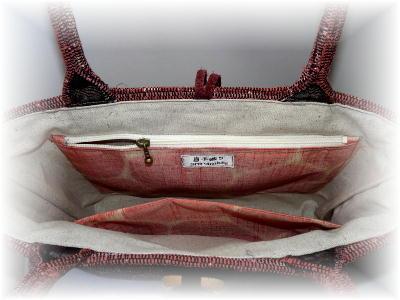 裂き織りトート41-3