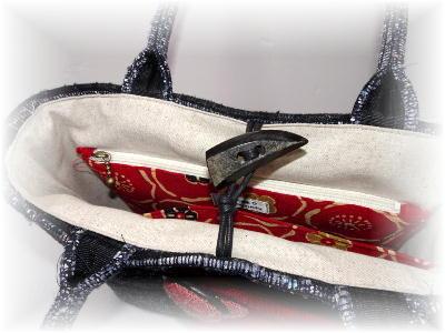 裂き織りトート43-3