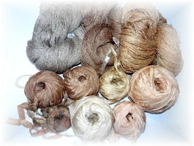 裂き織りマフラー29
