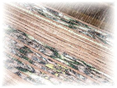 裂き織りマフラー29-3