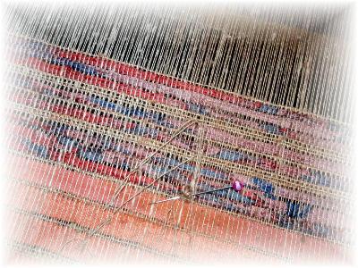 裂き織りマフラー30-2