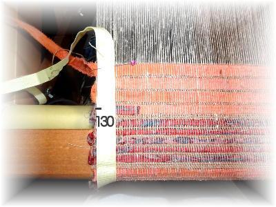 裂き織りマフラー30-3