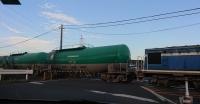 新浜クリーセンターアクセス途中の貨物