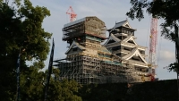 熊本城の天守閣復旧