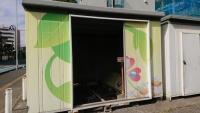 千葉市役所の資源回収庫