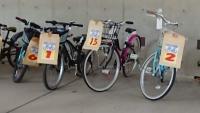 リサイクルの自転車