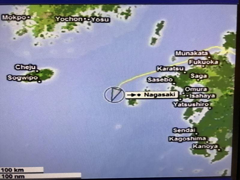 2019 五島列島を回り込んで長崎へ